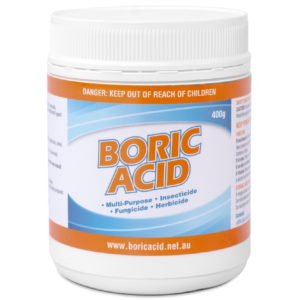 400g jar of boric acid