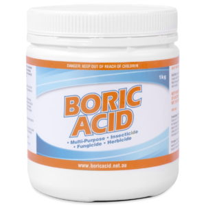 1kg jar of boric acid