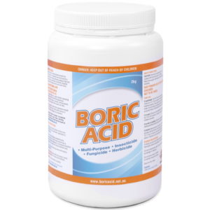 2kg jar of boric acid